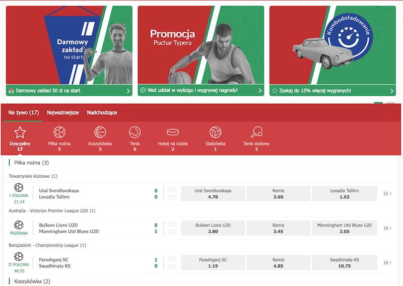 PZbuk Polski bukmacher internetowy